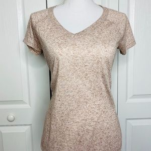 Juicy Couture V Neck Shimmer Tee Size Small